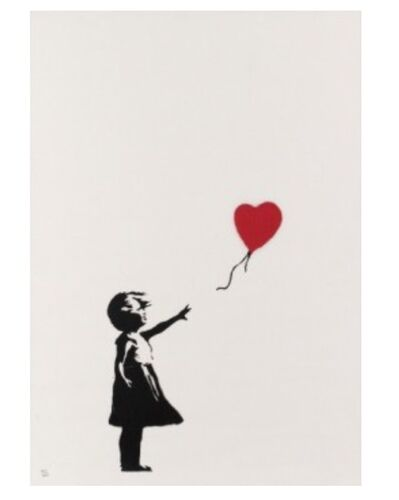 Banksy, 'Girl with Ballon', 2004