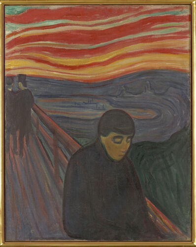 Edvard Munch, 'Despair', 1894