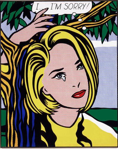 Roy Lichtenstein, 'I...I'm sorry', ca. 1980