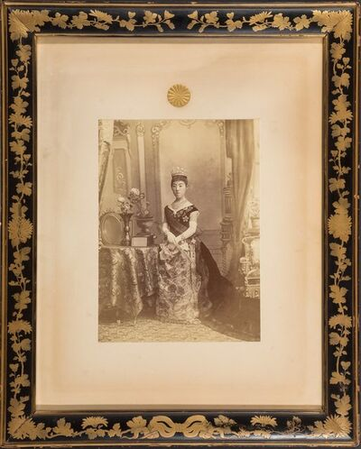 Shinichi Suzuki, 'Portrait of Empress Shoken', 1889