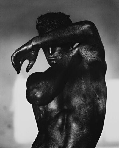 Herb Ritts, 'Tony, Black Torso, Los Angeles', 1986