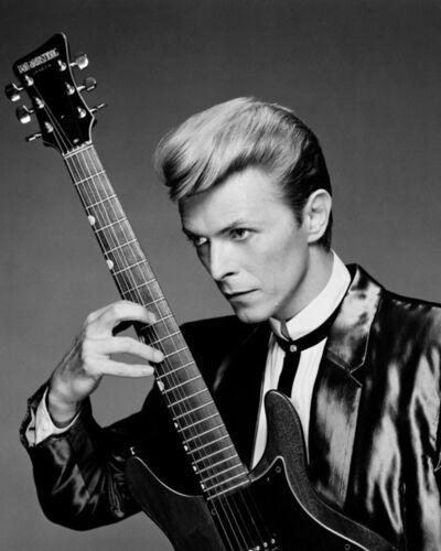 Greg Gorman, 'David Bowie with Guitar, NYC',  1984