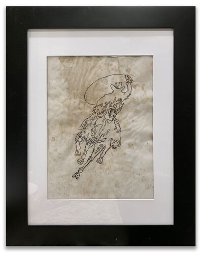 Richard Hambleton, 'Horse & Rider', 2014