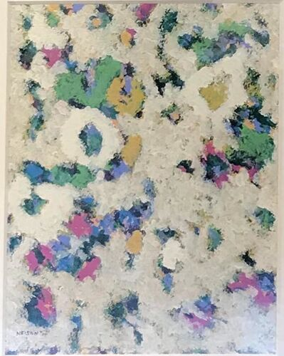 """Fredrick Nelson, '""""Forget Me Nots""""', 2017"""