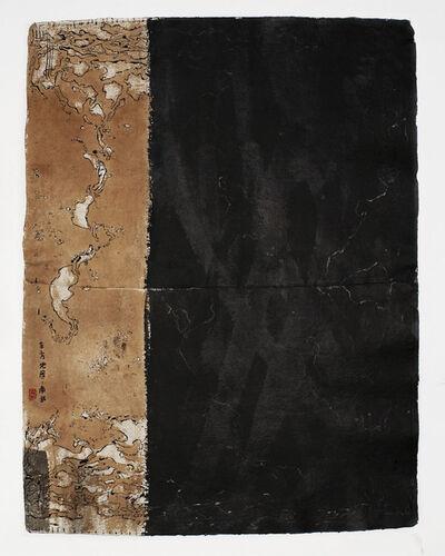 Piero Pizzi Cannella, 'Mappe d'oriente, il nord, il sud', 2009