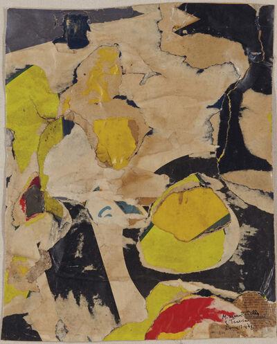 Mimmo Rotella, 'Untitled', 1958