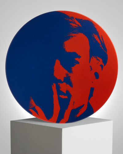 Andy Warhol, 'Self-portrait Blue / Red', ca. 2019