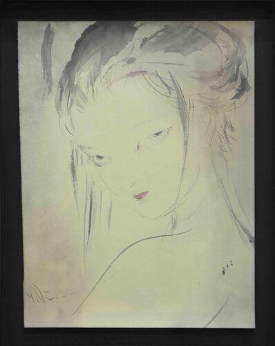 Amano Yoshitaka, 'Lady Noir 6', 2019