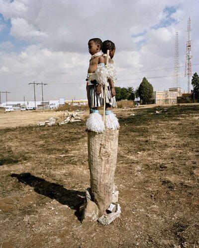 "Namsa Leuba, 'Struggle, from the series ""Zulu Kids"" ', 2014"