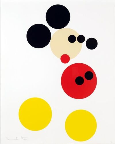 Damien Hirst, 'Mickey Mouse', 2010