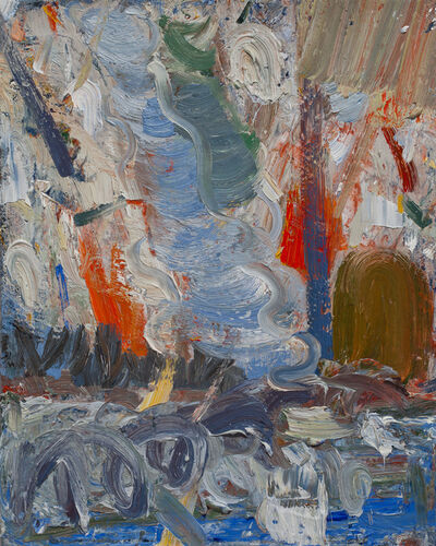 John Santoro, 'Hong Kong Thunderstorms: Red Rain', 2014