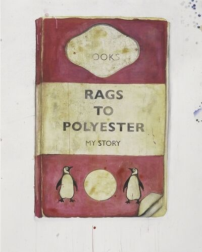 Harland Miller, 'Rags To Polyester', 2017