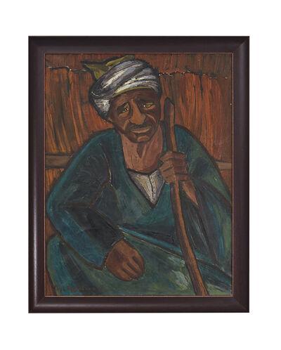 Inji Efflatoun, 'Old Sailor', 1958