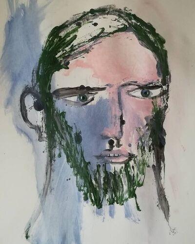 Pascal Briba, 'L'attente', 2018
