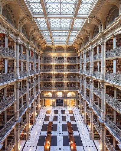 Reinhard Gorner, 'George Peabody library II, baltimore', 2017