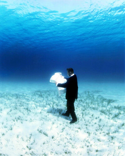 Philippe Ramette, 'Rational Exploration Of The Undersea: The Map', 2006