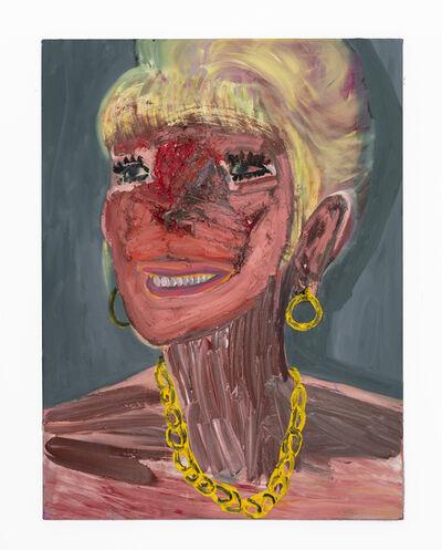 Georgina Gratrix, 'Filler Face', 2020