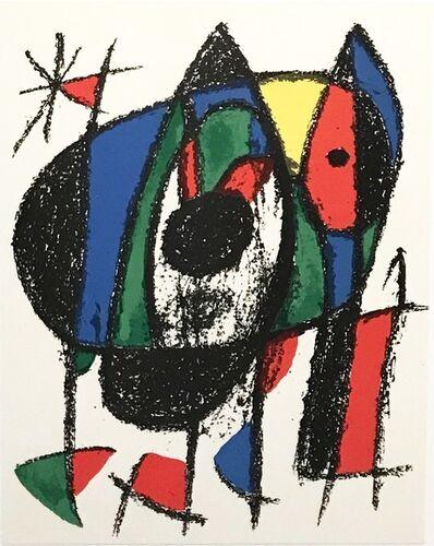 Joan Miró, 'Plate V', 1975