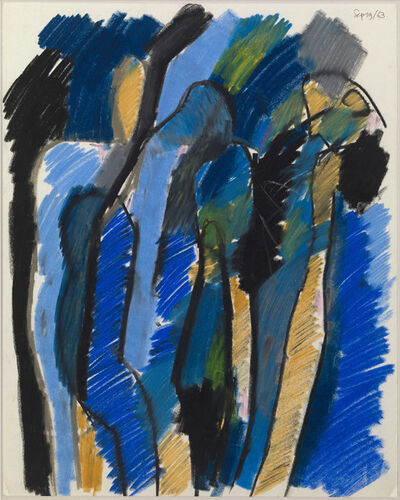 Keith Vaughan, 'Untitled (Three Figures)', 1963