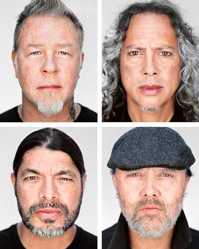 Martin Schoeller, 'Metallica', 2016