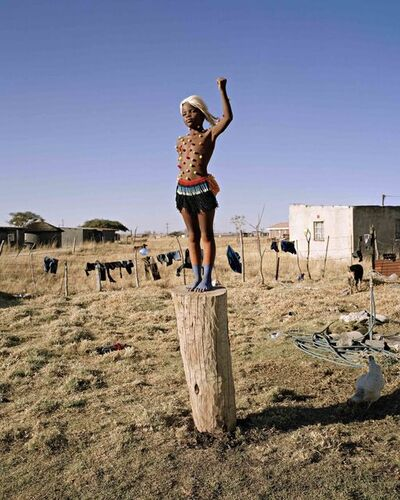 "Namsa Leuba, 'Power, from the series ""Zulu Kids"" '"