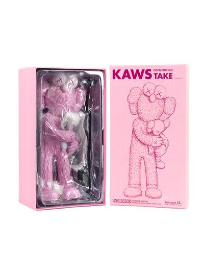KAWS, 'TAKE (Pink)', 2020