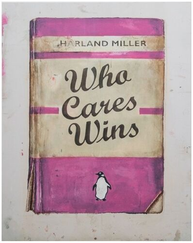 Harland Miller, 'Who Cares Wins, from Artist with Liberty', 2016