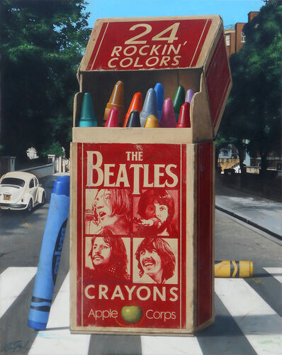 Ben Steele, 'The Beatles Crayons', 2019