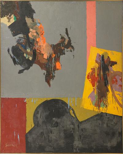 Sidney Gross, 'Waves on Grey'
