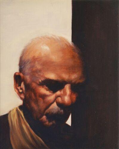 Graeme Wilcox, 'Portrait of an old man'