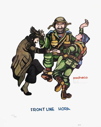 Ferdie Pacheco, 'FRONT LINE HORA (JUDAICA ART)', 1978