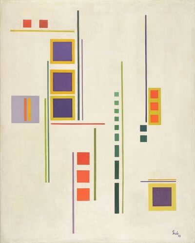 Juan Melé, 'Invención Nro. 30', 1947