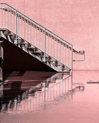 Anastasia Samoylova, 'Staircase at King Tide, Hollywood Florida', 2020