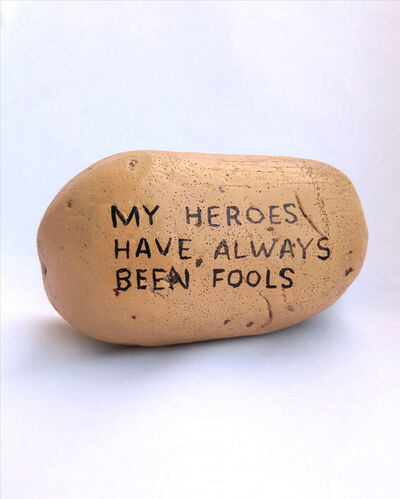 Marc Badia Quintana, 'My Heroes Have Always Been Fools (Potato 1)', 2018