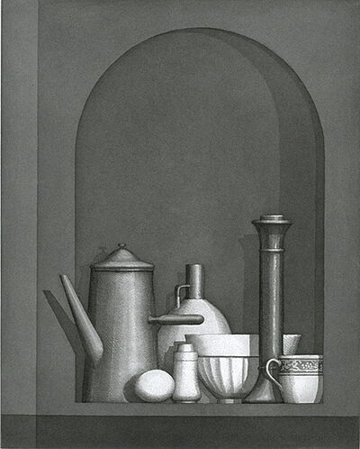 William Bailey, 'Montepulciano', 1996