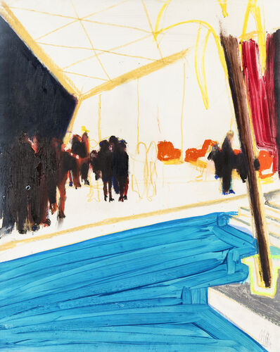Chris Moon, 'Hollywood Party Sketch', 2014