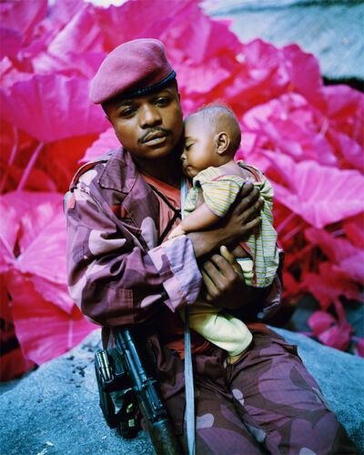 Richard Mosse, 'Madonna and Child, North Kivu, Eastern Congo, 2012', 2012