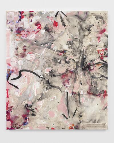 Suzanne McClelland, 'Formula #3 in Red - Stronium and Xenon', 2019-20