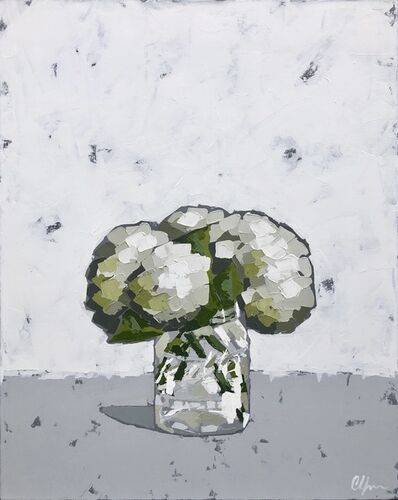 Christie Younger, 'Hydrangeas in a Bell Jar', 2019