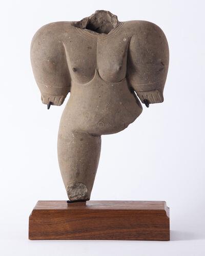 Unknown, 'Standing Female Anthropomorphic Chorrera Figure ', 800 BCE-400 BCE