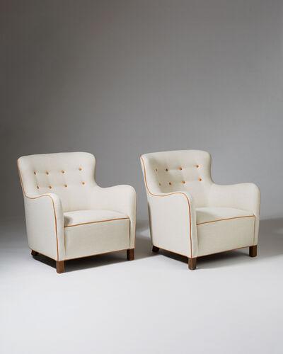Kaj Gottlob, 'Pair of armchairs', 1937