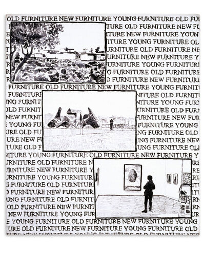 David Reeb, 'Young Furniture #1', 1997