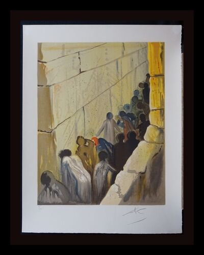 Salvador Dalí, 'Aliyah The Wailing Wall', 1968
