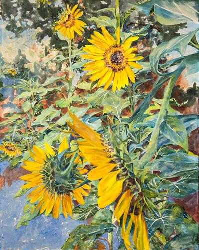 Malou Flato, 'Sunflowers', 2018