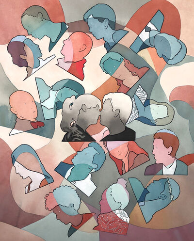 Dan Gluibizzi, 'Kiss and swipe', 2020