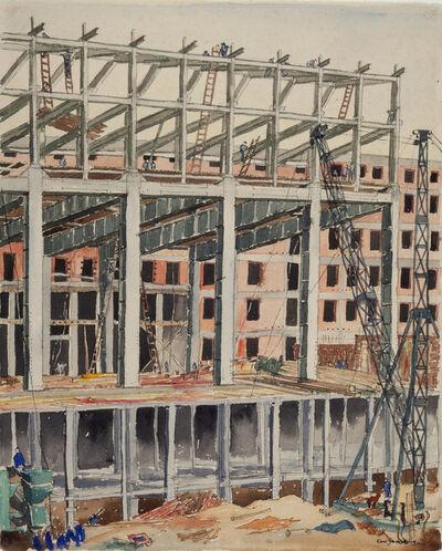 Carl Grossberg, 'Steel-frame construction (Stahlskelett)', 1935