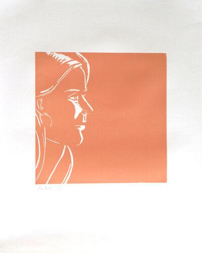 Alex Katz, 'Pink Kym', 1995