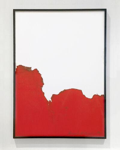 Bernard Aubertin, 'Cage rouge de Fumée', 1974