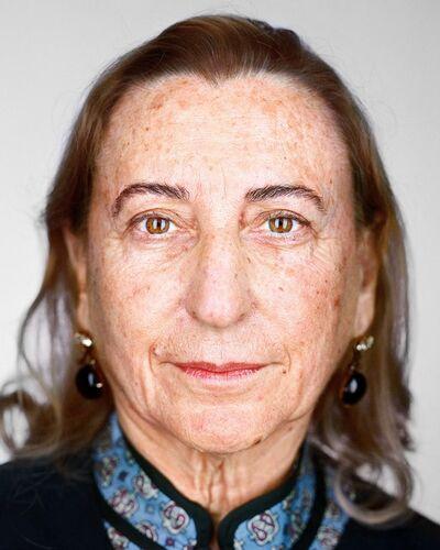 Martin Schoeller, 'Miuccia Prada', 2017