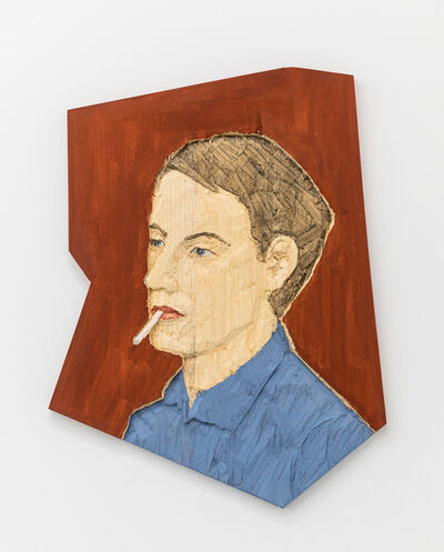 Stephan Balkenhol, 'Man (abstract Form)', 2019